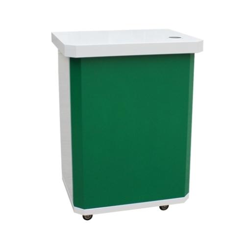 syd-202흰색 + 초록색 컬러 시음대W600×D460×H810