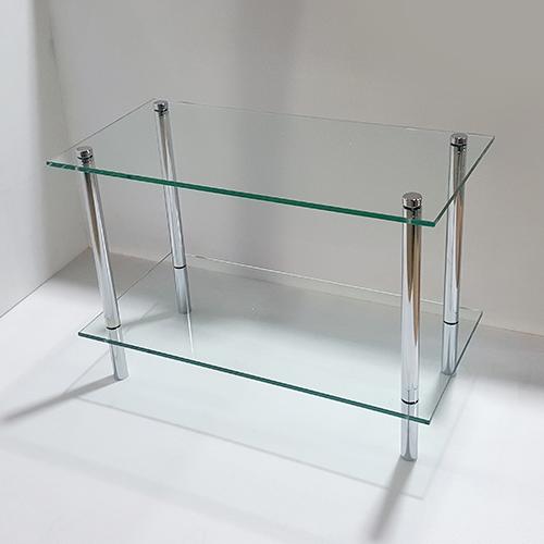 유리 기둥 2단선반주문 제작 가능 syk-785