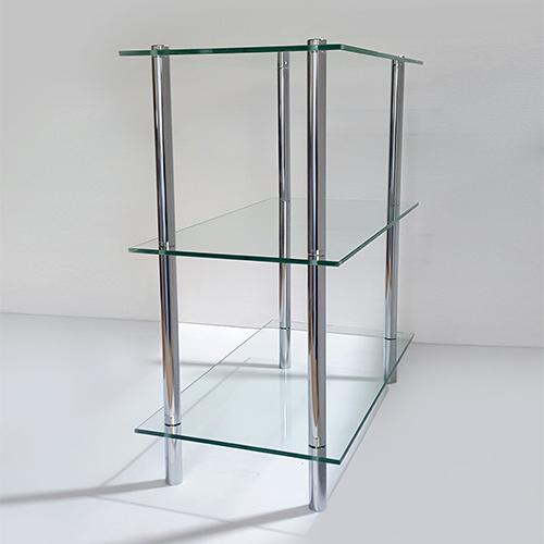 유리 기둥 3단선반주문 제작 가능 syk-786
