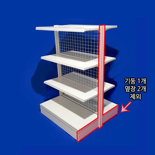sys-506애완용품 선반진열대 중앙 4단 연결형가로900*폭900*높이1370mm<배송비 착불>